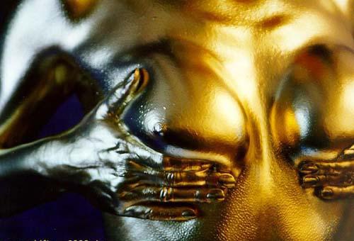 Фото золотая голая сказал