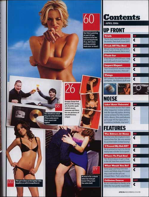 Знаменитости : Jaime Pressly с обложки журнала Maxim