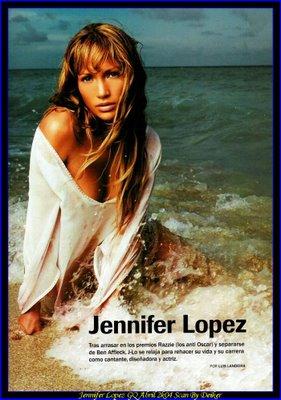 Jennifer Lopez с обложки CQ