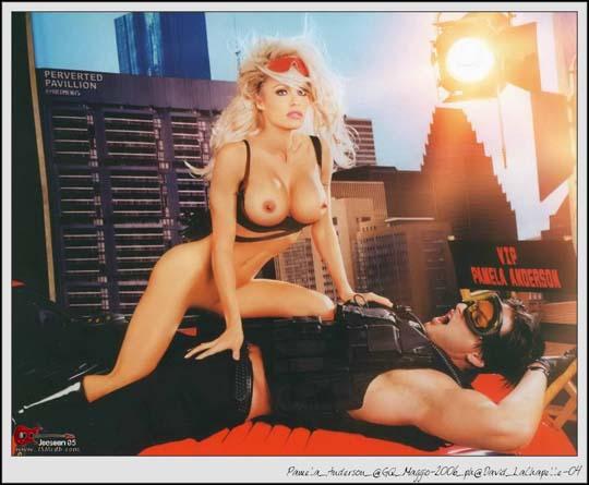 Pamela Anderson Nude In Italain GQ