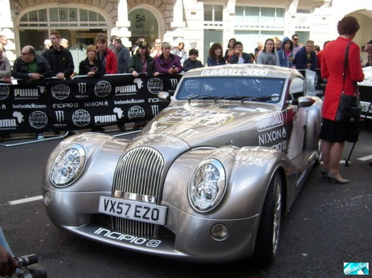 Gumball3000 world tour в Лондоне (30 фото)