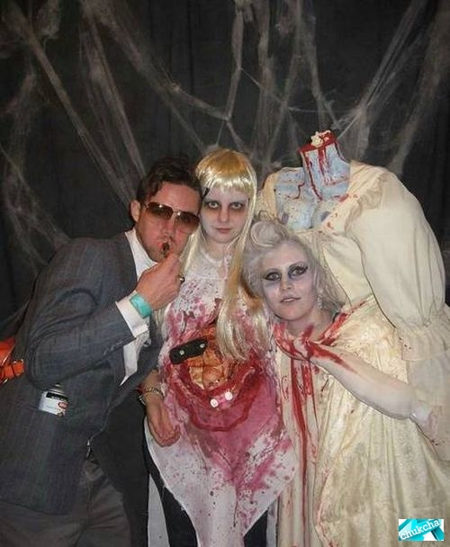 Костюм для хэллоуина своими руками фото
