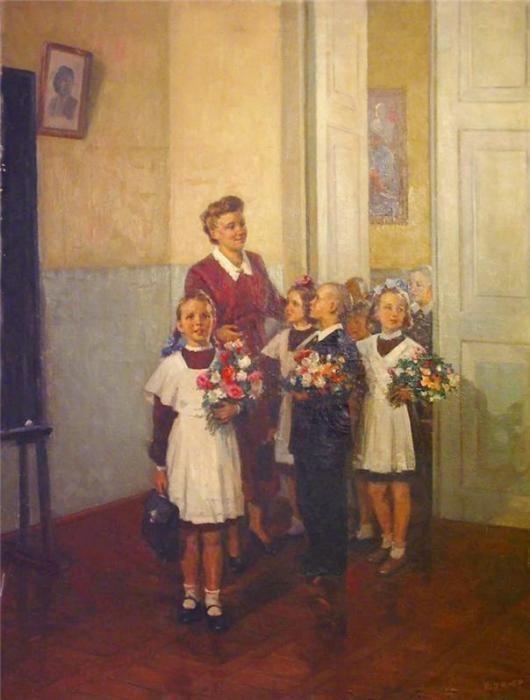 Сегодня в школу - ностальжи по СССР (45 фото)